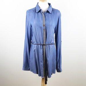 NEW Miss Me Denim Dress Size L
